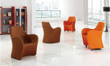 Le sofa à base métallique de barre d'émerillon préside les meubles d'entrée d'hôtel (UL-LS001)