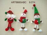 """орнамент Elf-3asst рождественской елки 8 """" h"""