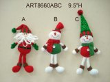 Elfo Ornaments-3asst della decorazione di natale