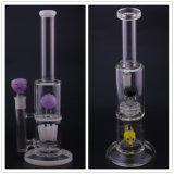 Il nuovo vetro più alto creativo di disegno convoglia il narghilé dei tubi di fumo dell'acqua