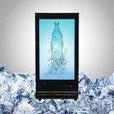 """"""" réfrigérateur transparent de l'affichage à cristaux liquides 44 pour la boisson et les boissons"""