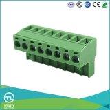 Tamanho Pluggable do fio do passo 2.5mm2 do bloco de terminais 5.0mm do PWB Ma2.5h5.0