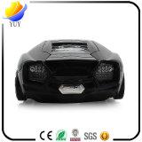 Изготовленный на заказ черная мышь Lamborghini беспроволочная светоэлектрическая
