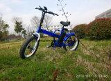 Bicicleta de montanha elétrica do pneu gordo Foldable, E-Bicicleta