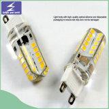 Éclairage LED chaud d'ampoule de la vente 220V G9 pour la décoration à la maison