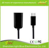 10cm USB Af zum Mikro-USB-Adapter-Kabel