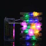 다색 3m/10FT 구리 철사 30 나비 LED 끈 요전같은 빛 램프 Xmas