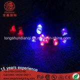 Het kleur Geruilde RubberMacht Uitgeboorde 6W Lichte Koord van de Vakantie voor de Decoratie van het Huwelijk