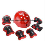 ヘルメット、膝パッド、肘当て、やしパッドを含むスポーツの保護セット