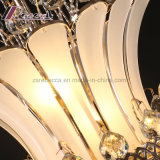 Indicatore luminoso Pendant di cristallo unico moderno K9 per la scala dell'hotel