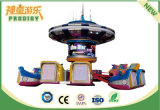 Máquina de jogo de diversão rotativa elétrica de playground indoor com 24 assentos