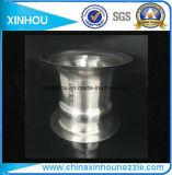 Bec de pulvérisation chaud industriel de nettoyage de douche d'air de ventilateur d'évent rond réglable