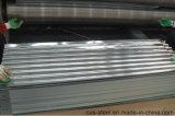 파 아연에 의하여 입히는 기와 또는 직류 전기를 통한 물결 모양 금속 루핑 장