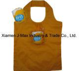 Sac à provisions pliable, type de cuvette de café de boissons, sacs réutilisables, d'emballage, promotion, sacs d'épicerie, cadeaux, poids léger, accessoires et décoration