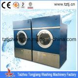 Secadores comerciais da lavanderia da grande capacidade, secador de roupa comercial industrial