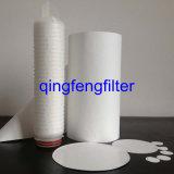 Filtro de membrana de 0.20/0.45 micrones PVDF para la filtración corrosiva de las soluciones
