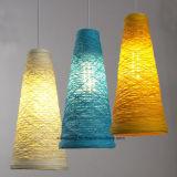 Moderne Rattan-Decken-hängende Lampe für Gaststätte-Dekoration