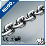 Corrente de alta elasticidade G80 do aço de liga