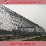 돔 대피소를 위한 강철 공간 프레임 지붕 구조 디자인