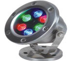 熱い販売の良質LED地下ライトRGB 3W 24V LED床ライト
