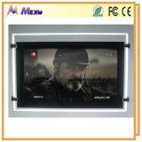 Acrylic обрамляет фотоего квадратное СИД LCD рекламируя индикацию