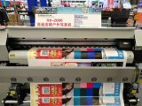 impresora solvente de Eco del formato grande de la inyección de tinta del 1.85m Digitaces con la cabeza de impresión doble Dx5 para hacer publicidad