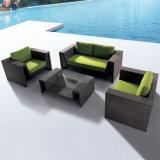 Sofá al aire libre hecho a mano de la esquina de la rota del salón de los muebles del patio del jardín del nuevo estilo