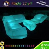 Aufenthaltsraum-Möbel-Magie, die bunte LED-Sofa-Möbel blinkt