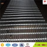 Pasamanos Rejilla metálica Rejilla de aluminio de barra de acero suave