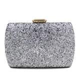 Oro del bolso de la manera del Rhinestone del bolso caliente de las mujeres/plata brillante/señoras negras que igualan los bolsos de embrague Eb876