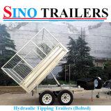 Hochwertiger Stahlkasten-Schlussteil mit Rampe