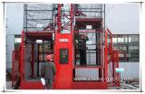 Gaoli 2000kgの高速二重ケージの構築の建物の起重機Sc200/200
