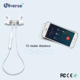 Наушники Bluetooth самого лучшего плоскостного магнитного наушника ожерелья наушников беспроволочные с магнитами Earbuds