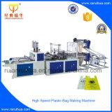 Plastiktasche aus Polyäthylen, die Maschine herstellt