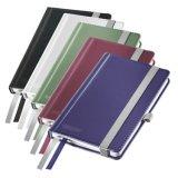 La cubierta dura roja A6 gobernó el regalo del cuaderno