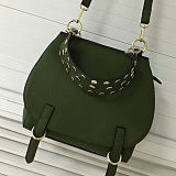 Nova bolsa de couro de design Studded Fashion Lady Messenger Bags Emg4817