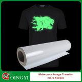 Incandescenza all'ingrosso di prezzi bassi di Qingyi in pellicola scura di scambio di calore per la maglietta