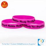 Wristband astuto del silicone promozionale su ordinazione di stampa della Cina