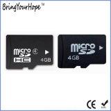 실제적인 가득 차있는 기억 장치 용량 4GB 마이크로 SD 카드 (TF 4GB)