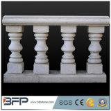 Barandillas de la escalera de la piedra del pasamano del balcón del granito
