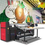 Mt 큰 체재 인쇄 기계 구를 것이다 UV 인쇄 기계 롤 및 기계를 인쇄하는 평상형 트레일러 잉크 제트