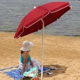 Staal (Overgehelde) Paraplu van het Strand van 6 Voet de Rode