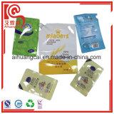 Sachet en plastique comique de gicleur de sac de liquide de lavage