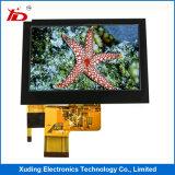 visualización de pantalla de 4.3 ``TFT LCD para las aplicaciones industriales