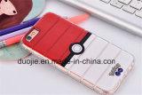 Caixa do telefone móvel do silicone dos quadrados para o modelo novo iPhone7 e Samsung S7edge novo dos acessórios do telefone (XSDD-044)