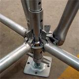 Scaffoldings конструкции Q235 гальванизированные сталью Ringlock