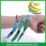 Le polyester personnalisé estampé folâtre le bracelet de bracelet