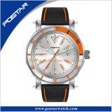 Riem van uitstekende kwaliteit van het Leer van het Horloge van de Armband de Echte met de Gesp van de Vlinder