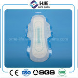 Usine remplaçable de serviette hygiénique d'absorption élevée d'ailes