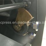 máquina de corte hidráulica do balanço do metal da placa de 8mm 3200mm